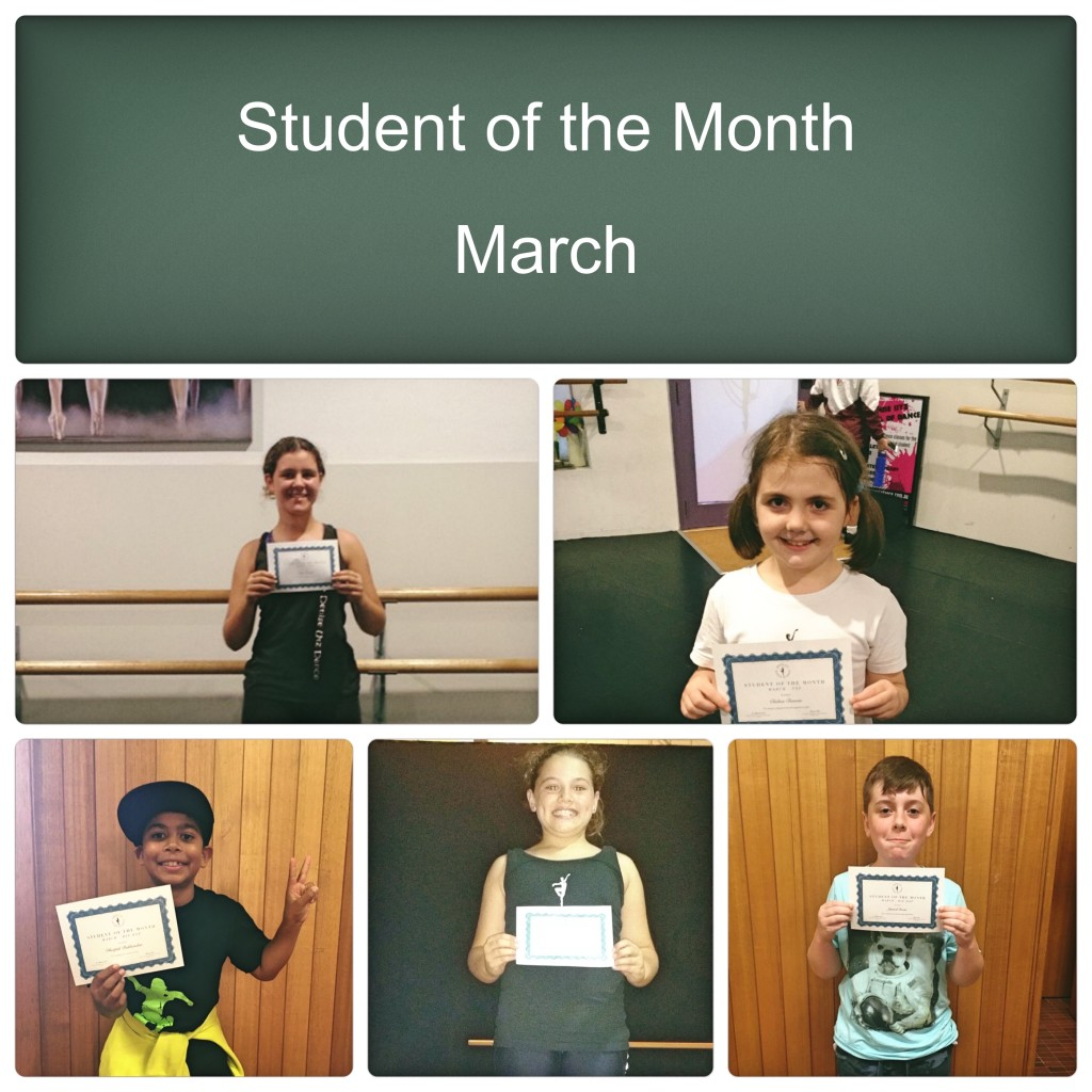 Student of the Month - March_Fotor